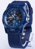 DLA NIEGO... Granatowy zegarek męski ARMY