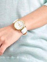 Damski zegarek biały                                  zdj.                                  3