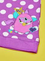 Fioletowa sukienka w groszki dla dziewczynki FURBY                                  zdj.                                  3