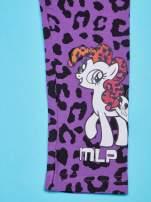 Fioletowe legginsy dla dziewczynki nadruk MY LITTLE PONY                                                                          zdj.                                                                         3