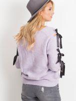 Fioletowy sweter Hailee                                  zdj.                                  2