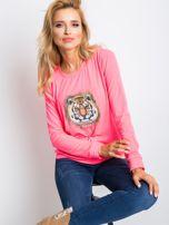 Fluo różowa bluza Palma                                  zdj.                                  6