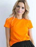 Fluopomarańczowy t-shirt Peachy                                  zdj.                                  1