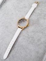 GLITTER OMBRE biały zegarek damski                                  zdj.                                  4
