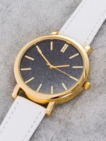 GLITTER OMBRE biały zegarek damski                                  zdj.                                  2