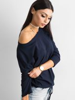 Granatowa bluzka Fiona                                  zdj.                                  3