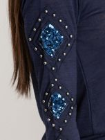 Granatowa bluzka Stella                                  zdj.                                  6