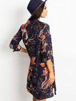 Granatowa sukienka Beverly                                  zdj.                                  2