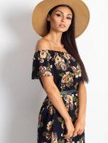 Granatowa sukienka Excellent                                  zdj.                                  5