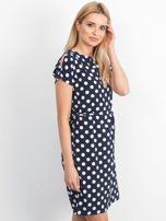 Granatowa sukienka Peyton                                  zdj.                                  3
