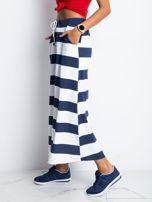 Granatowo-biała spódnica Freshest                                  zdj.                                  3