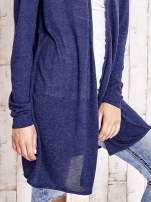 Granatowy długi sweter                                   zdj.                                  5