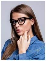 HIT 2016 Modne okulary zerówki typu KOCIE OCZY w stylu Marlin Monroe- soczewki ANTYREFLEKS+system FLEX na zausznikach