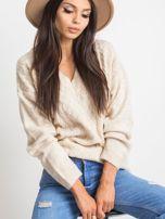 Jasnobeżowy sweter Chill                                  zdj.                                  1