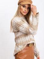 Jasnobeżowy sweter Fantasy                                  zdj.                                  7