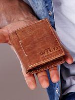 Jasnobrązowy portfel dla mężczyzny ze skóry naturalnej                                  zdj.                                  1