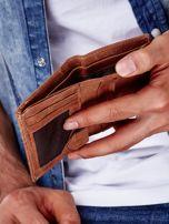 Jasnobrązowy portfel dla mężczyzny ze skóry naturalnej                                  zdj.                                  2