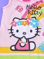 Fuksjowa sukienka dla dziewczynki bez rękawów HELLO KITTY                                                                           zdj.                                                                         4