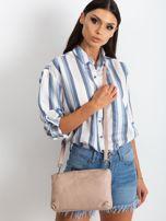 Jasnoróżowa torebka damska ze skóry naturalnej                                  zdj.                                  1