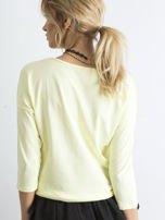 Jasnożółta bluzka April                                  zdj.                                  2