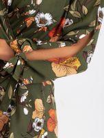Khaki sukienka Maybe                                  zdj.                                  6