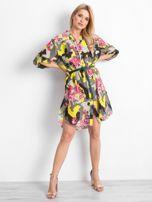 Khaki sukienka Peculiarity                                  zdj.                                  4