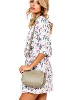 Khaki torba z dzielonymi komorami                                  zdj.                                  1