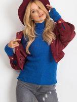 Kobaltowy sweter Milo                                  zdj.                                  1