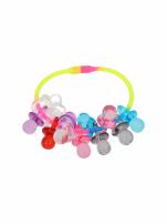 Kolorowa Bransoletka z zawieszkami w kształcie smoczków - baby shower                                  zdj.                                  3