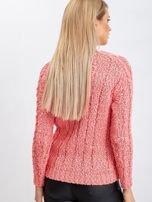 Koralowy sweter Ursula                                  zdj.                                  2