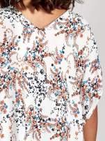 Koszula o kroju oversize we wzór w łączkę                                  zdj.                                  6