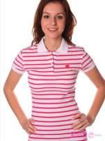 Koszulka polo w paski                                  zdj.                                  1