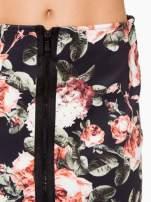 Kwiatowa ołówkowa spódnica two tone z zamkiem                                  zdj.                                  10