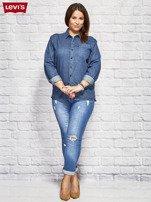 LEVIS Niebieska jeansowa koszula                                  zdj.                                  4