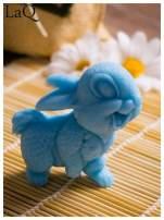 LaQ Mydełko Uśmiechnięty królik - niebieski / Zapach - wata cukrowa BEZ SLS i SLES                                  zdj.                                  1