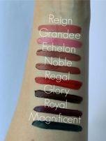 Makeup Revolution Retro Luxe Gloss Lip Kit Zestaw do ust konturówka 1g + matowa pomadka w płynie 5,5ml Noble                                  zdj.                                  2