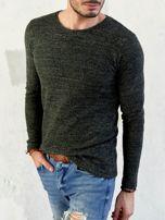 Męski sweter khaki                                  zdj.                                  1