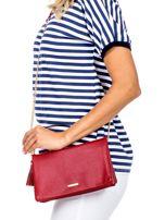 Miękka czerwona torebka z chwostem                                  zdj.                                  5