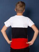 Modułowy t-shirt dziecięcy z suwakami                                  zdj.                                  2