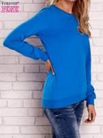 Ecru bluza z kolorowymi naszywkami                                                                          zdj.                                                                         3