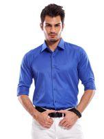 Niebieska koszula męska                                   zdj.                                  2