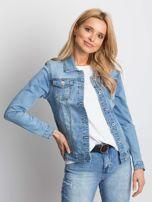 Niebieska kurtka jeansowa Mileage                                  zdj.                                  1