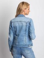 Niebieska kurtka jeansowa Mileage                                  zdj.                                  2