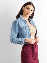 Niebieska kurtka jeansowa Sugar                                  zdj.                                  3