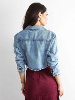 Niebieska kurtka jeansowa Sugar                                  zdj.                                  2
