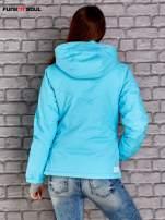 Niebieska kurtka narciarska z motywem gwiazdy FUNK N SOUL                                  zdj.                                  4