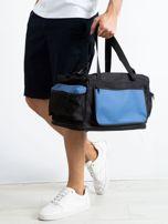 Niebieska męska torba treningowa                                  zdj.                                  1