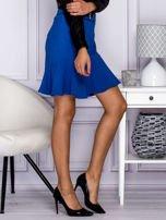 Niebieska spódnica z falbaną                                  zdj.                                  5