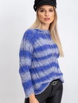 Niebieski sweter Madison                                  zdj.                                  3