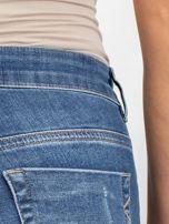 Niebieskie jeansy ciążowe Cuteness                                  zdj.                                  5